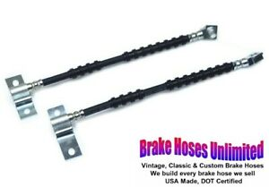 FRONT BRAKE HOSES Ford Country Sedan 1968 - Front Disc