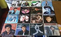 "SHAKIN´ STEVENS 16X 7"" 45 SINGLES COLLECTION [JUKEBOX HIT DUTCH GERMAN PRESSINGS"