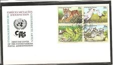 United Nations / New York SC # 760a Endangered Species FDC. UNPA Cachet