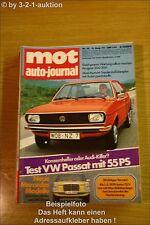 MOT 16/73VW Passat Mercedes Benz 230/4 240 D