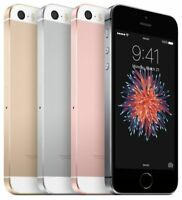Apple iPhone SE 32GB Smartphone Factory Unlocked Grey Pink Gold Silver (1st Gen)
