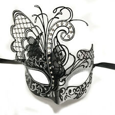 Silver/Black Dream Butterfly Mardi Gras Halloween Ball Prom Masquerade Mask