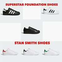 Adidas SUPERSTAR FOUNDATION STAN SMITH Unisex Men's Women's Trainers Shoes