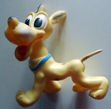 VINTAGE rubber vinyl toy PLUTO LEDRA LEDRAPALSTIC WALT DISNEY italy 1960s