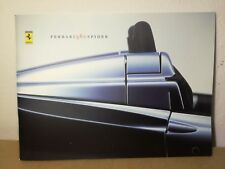 Ferrari 360 spider brochure press kit depliant prospekt 1602/00