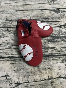 Robeez Play ball! Baseball shoes  Size 12-18 Months /(5-6)