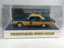 Pennsylvania State Police 1973 Plymouth Fury- 1/43 Scale - White Rose