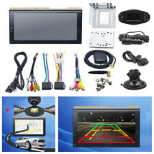 "7"" 2Din Car Android Radio Bluetooth GPS Wifi Stereo Video DVD Player+HD DVR Kits"