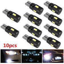 10pcs T10 LED Standlicht Canbus Fehlerfrei 6SMD Seitenlicht Lampe Weiß Birne Kit