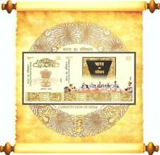 India 2020  Constitution of India Miniature Sheet Stamps MNH x 2
