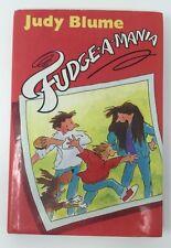 Judy Blume FUDGE-A-MANIA HB/DJ 1st Printing Edition First