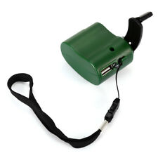 Universal Emergencia USB Hand-Cranking MANUAL Dinamo Cargador