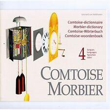 COMTOISE MAYET MORBIER. / DICTIONNAIRE 4 LANGUES / LANGUAGES / SPRACHEN / TALEN