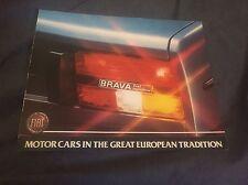 1981  Fiat 131 Brava Color Brochure Poster Prospekt