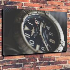 "Breitling Watch Printed Canvas A1.30""x20""~Deep 30mm Frame Wristwatch"