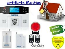 ANTIFURTO PROFESSIONALE WIRELESS CON ALLARME GSM/SMS INTERFONO IOS ANDROID APP