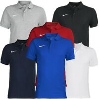 Nike Team Core Herren Poloshirt 6 Farben T-Shirt Trainingsshirt Polo NEU