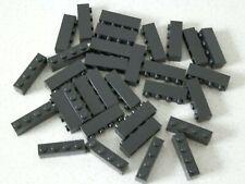 Lego 3010 # 30 x Basic Steine 1x4 hoch schwarz 10018