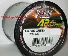 Vicious Copolymer 20# 600 yds Fishing Line Ap New Moss Green