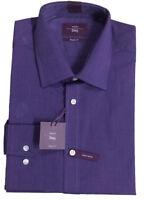 Men's Moss Bros.  Esq Regular Fit  Single Cuff Shirt
