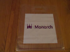 Monarch Airlines  Duty Free Bag New Never Used