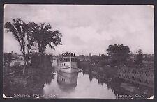 Circa 1907 Real Photo RPPC Postcard Jone's Cut SMITH'S FALLS, Ontario, Canada