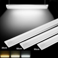 LED Batten Tube Linear Light 1FT/2FT/3FT/4FT Ceiling Light Surface Bright Safety