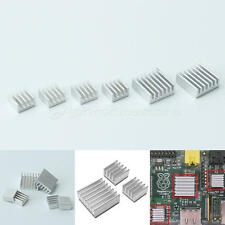 6pcs Aluminum Heatsink Cooler Heat Spreader Kit For Cooling Fin Memory Chip IC