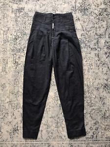 z. Cavaricci Womens Blue 80s Pants Size 28 Vintage