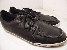 Puma Men's Benecio Mocc Toe Trainers 353123 Sneakers Black Leather Sz 13