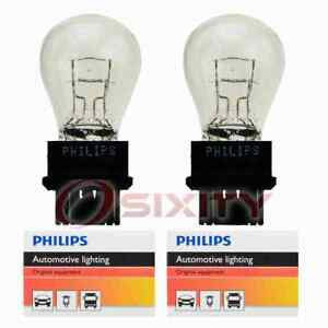 2 pc Philips Daytime Running Light Bulbs for Saab 9-5 2010-2011 Electrical fi