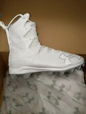 Nib - Under Armour Boy's 'Highlight Rm Jr.' White Football, Lacrosse - Us 6 Y