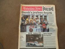 Motoring News 4 June 1986 Le Mans 24 Hours Indy 500 Fiat UK Rally Challenge