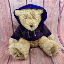 gorgeous Teddy Bear 🐻 Notty 2001 With Jumper Hoodie Plush Soft Fear kids toy