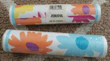 Vintage Girls Bright Floral Flower Wallcovering Border lot of 2 rolls New