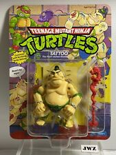 TATTOO - Original Teenage Mutant Ninja Turtles - MOC - NEW - UNPUNCHED - MINT