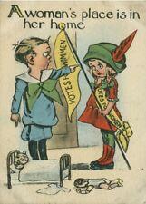 "Vintage Suffragette Propaganda ""A WOMAN'S PLACE"" 250gsm A3 Poster"