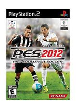 Pro Evolution Soccer 2012 - PlayStation 2 Disc Free Shipping