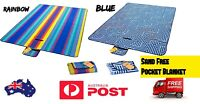Quality Design Sand Washable Picnic Blanket Waterproof Outdoor Rug Summer Carry