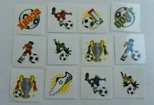 24 soccer football Tattoos Children's  Birthday Party Loot Bags Favours
