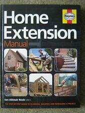 Haynes Home Extension Manual Planning Building Managing a Project by Ian Rock