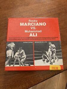 Rocky Marciano Vs. Muhammad Ali Super 8mm Rare Film Boxing Computer Fight
