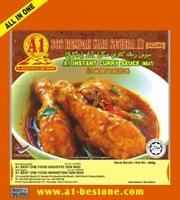 A1 Best One Instant Curry Sauce Meat Malaysian Curry Sauce Paste Spices X 2 Pcs