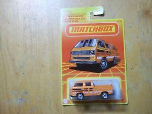 matchbox metal volkswagen transporter crew cab