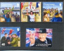 Mint Never Hinged/MNH Military, War Channel Islander Regional Stamp Issues