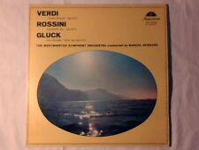 MARCEL BERNARD Verdi - I vespri siciliani Rossini - Guglielmo Tell  - Gluck lp