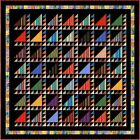 "ARABIAN NIGHTS - 104"" - Quilt-Addicts Pre-cut Patchwork Quilt Kit King size"