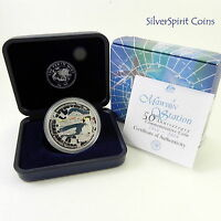 2004 ANTARCTIC SERIES MAWSON STATION  Silver Proof Coin