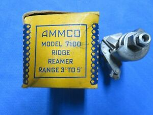 AMMCO 7100 Ridge Reamer