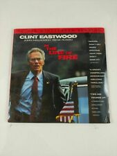 Laserdisc In The Line of Fire Clint Eastwood Rene Russo Widescreen Sealed NEW